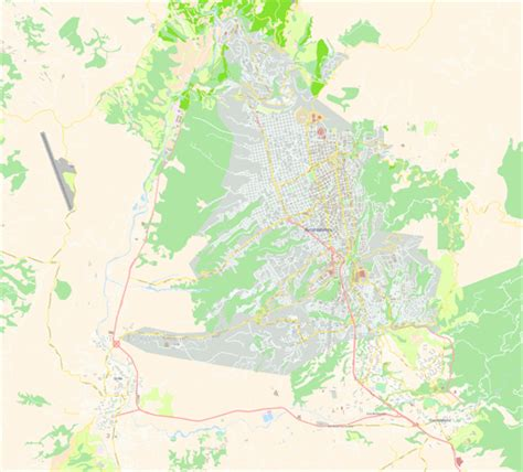 bucaramanga map vector map of bucaramanga colombia
