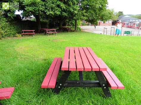 picnic benches for schools recycled plastic products for schools and colleges