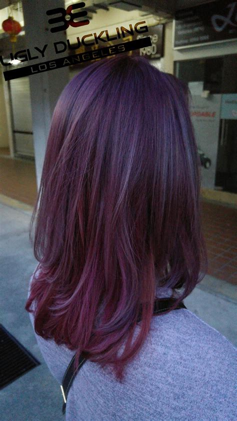 violet hair color violet hair color