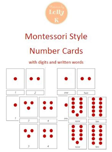 free printable montessori math materials 17 best images about montessori counting activities on