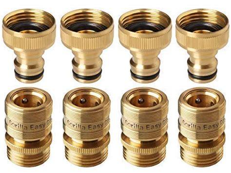 pieces brass male thread faucet hose nozzle quick