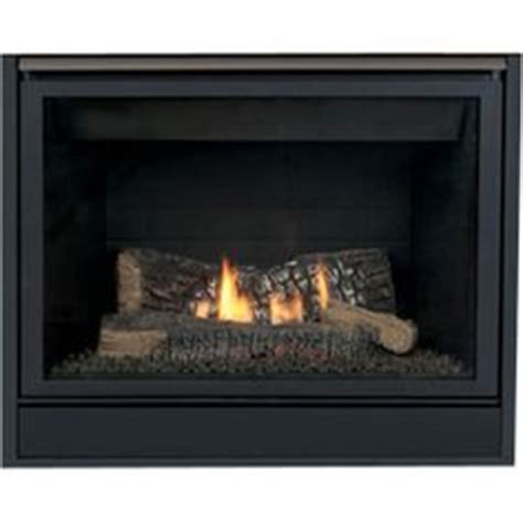 shop 37 1 2 in black direct vent gas fireplace at lowes
