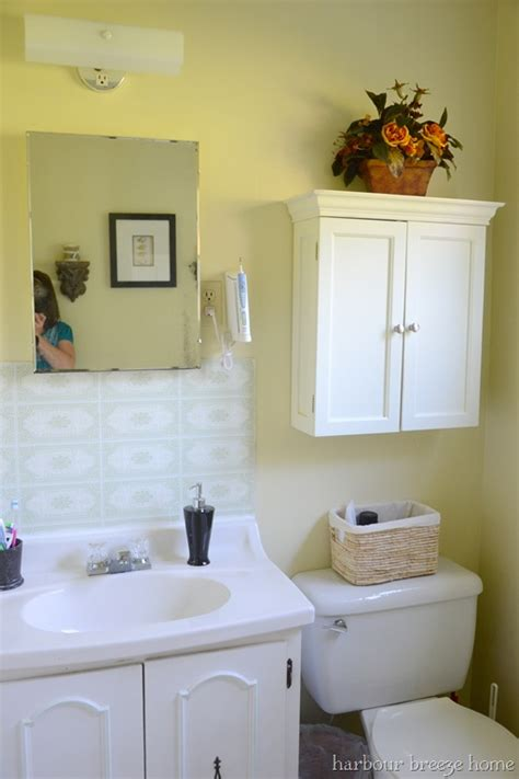 Kunststoff Waschbecken Lackieren by Thrifty Parsonage Living Bathroom Makeover Painting
