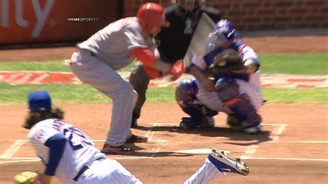 worst baseball swing ever billy hamilton takes the worst swing you ll see all year