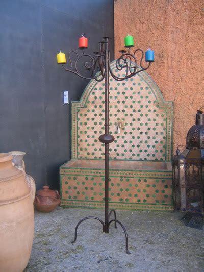 candelabros marroquies candelabros forja marroqu 237