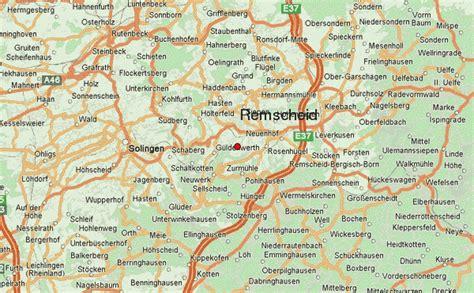 solingen map remscheid location guide