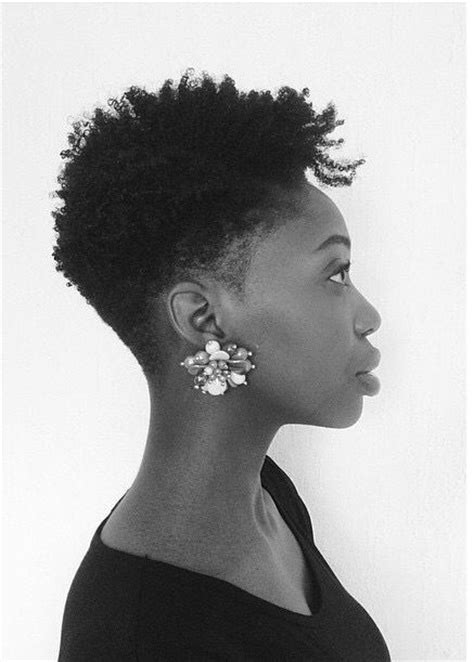 tapered cut on 4c hair 1000 ideas about tapered hair on pinterest short afro
