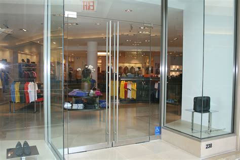 Glass Door Store by Mall Storefront Doors 2 Allservices Frameless Glass Company