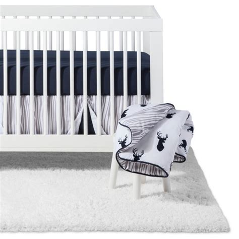 navy and white crib bedding sweet jojo designs crib bedding set navy white stag