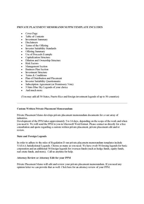 Sle Hedge Fund 506 Templates Sles And Templates Hedge Fund Ppm Template