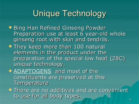 Han Ginseng Powder han and tong ren therapy