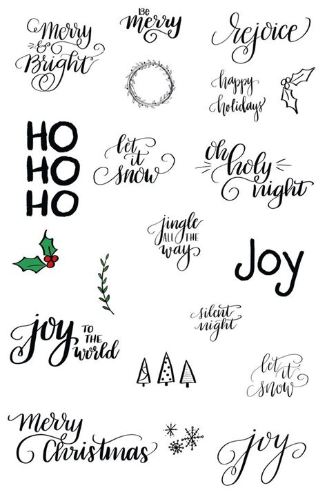 lettering tutorial easy 90 best images about christmas on pinterest christmas