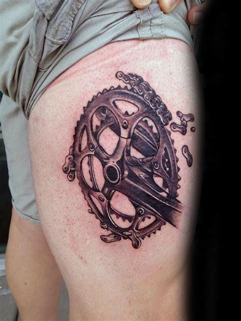 bicycle sprocket tattoo designs the gallery for gt motorcycle sprocket