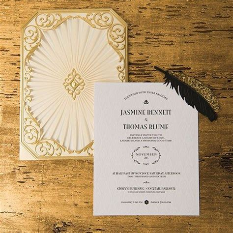 weddingstar wedding invitations 25 best ideas about deco invitations on
