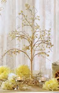 tree centerpiece wedding table decorations pearls