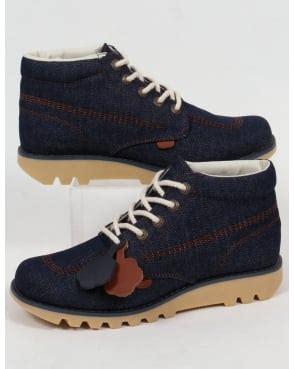 Kickers Casual Low Kick Suede kickers boots mens kick hi navy chocolate