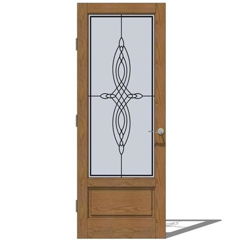 jeldwen doors jeld wen interior collection doors 3d model