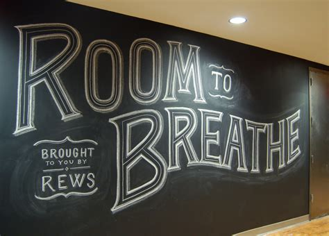 design font blackboard custom chalk lettering by dana tanamachi