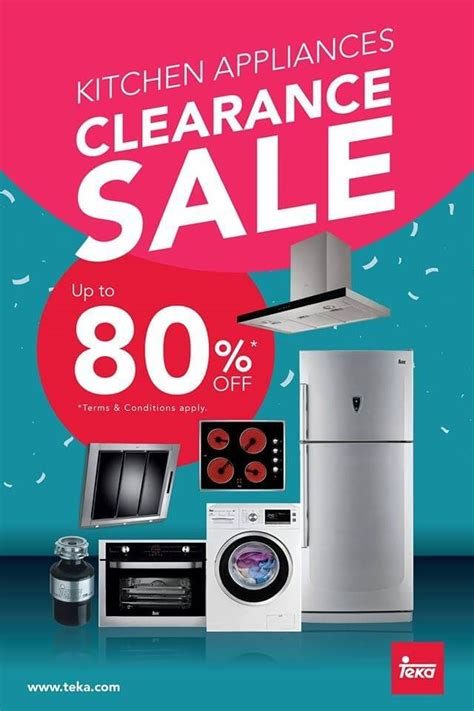 kitchen appliances clearance teka kitchen appliances clearance sale loopme malaysia