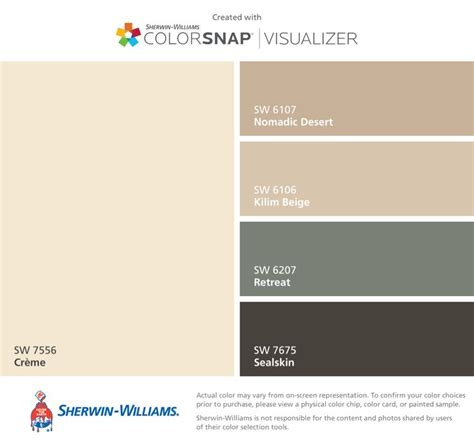 i found these colors with colorsnap 174 visualizer for iphone by sherwin williams cr 232 me sw 7556