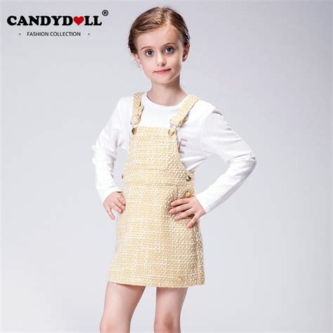doll model candydoll autumn dress children overlls