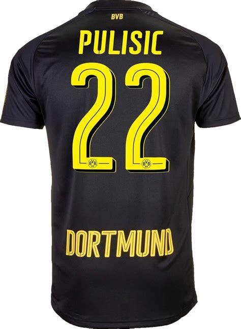 Harga Termurah Jersey Borussia Dortmund Away 2017 2018 Grade Ori pulisic borussia dortmund away jersey 2017 18