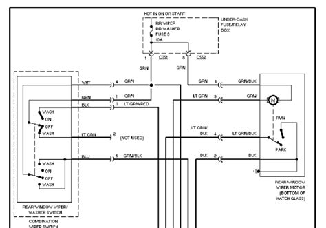 honda cr v 1997 car wiring diagram circuit wiring diagrams