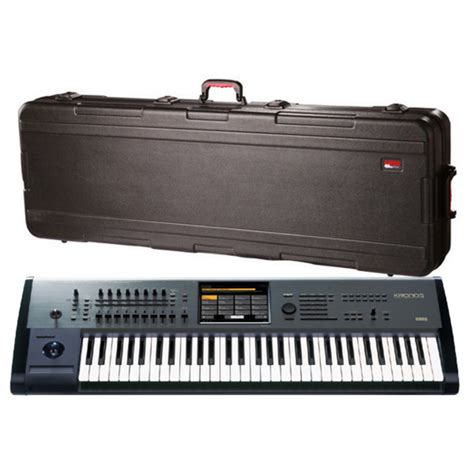Hardcase Keyboard Korg disc korg kronos 61 including kronos x upgrade and free at gear4music ie