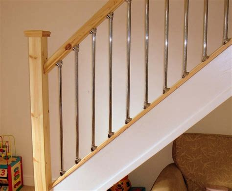 banisters and handrails good quality chrome handrails for stairs new staircase ideas