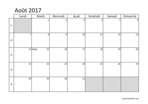 Calendrier Juillet Aout Imprimer Calendrier 2017 Gratuitement Pdf Xls Et Jpg