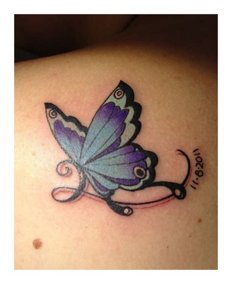 butterfly name tattoo designs 17 best ideas about purple butterfly on