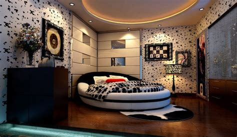 Creative Bedroom Wall Design Rendering By Neoclassical Creative Bedroom Design