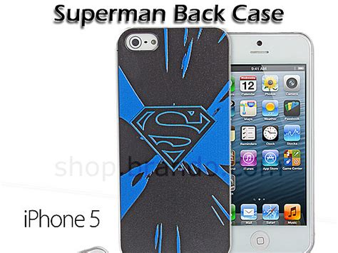 Dc Comics D0326 Iphone 5 5s Se Casing Custom Hardcase iphone 5 5s dc comics heroes superman back limited edition