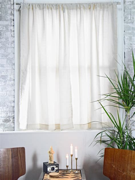 diy curtain how to hang curtain rods how tos diy