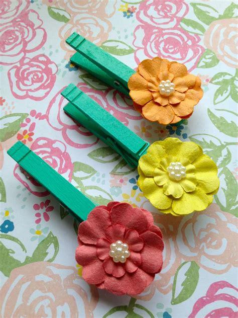 fiori per mamma lavoretti con le mollette per la festa della mamma foto