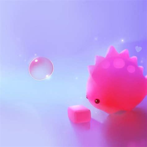 cute pink dino hd ipad wallpaper kawaii dinosaur