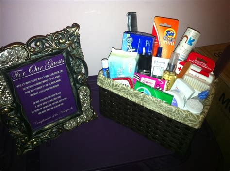 bathroom baskets for wedding guests 17 best images about bathroom baskets on pinterest