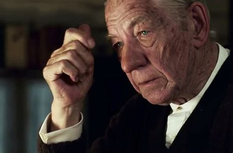 sir ian mckellen on mr holmes and an aged sherlock