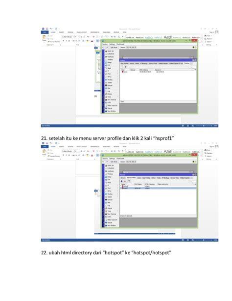 membuat hotspot dengan mikrotik rb450 tutorial membuat hotspot di mikrotik