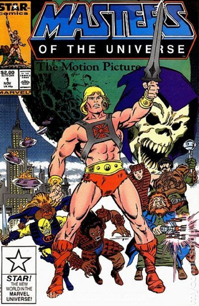 masters of books masters of the universe the motion picture 1987 comic books