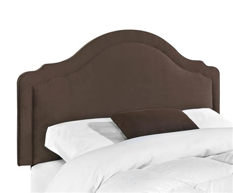 King Upholstered Headboard Upholstered Beds And Headboards Rabin King Headboard With Arched Top By Klaussner Wolf Furniture
