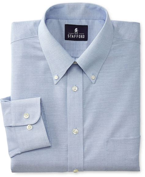 jcpenney stafford travel wrinkle free oxford dress shirt
