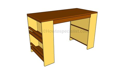 desk plans kids desk plans howtospecialist how to build step by
