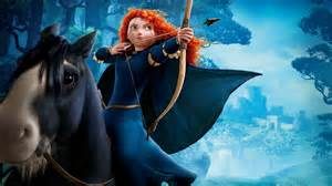 hd wallpaper brave princess merida archery cartoon desktop backgrounds hd 1080p