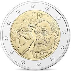 480742 monnaie de 2 auguste rodin