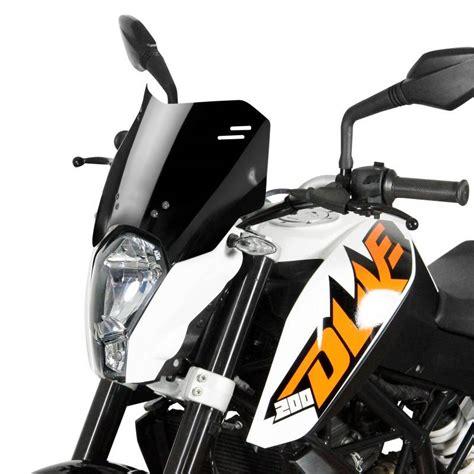 Ktm Duke 390 Parts Mra Spoiler Windscreen Quot S Quot Ktm Duke 125 200 390 Black