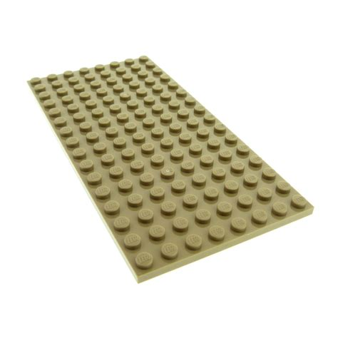 Lego Part 92438 4609726 Brick Yellow Plate 8 X 16 1 x lego brick plate 8 x 16 for set 41068 4204
