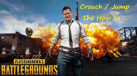 pubg how to crouch jump latest patch youtube