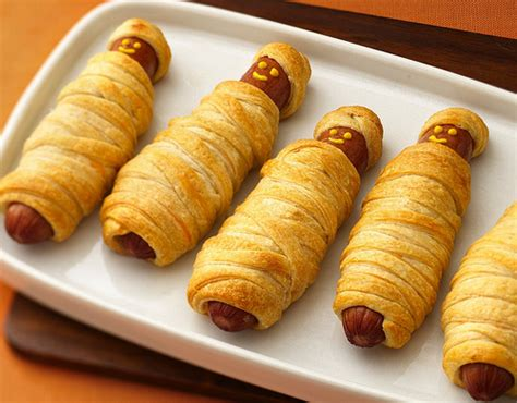 mummy dogs with crescent rolls recipe crescent mummy dogs flickr photo