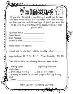 parent volunteer letter template exle of a welcome letter to parents 1000 ideas about